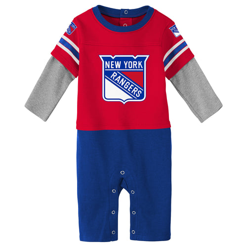 Rangers Boy Long Sleeve Coverall