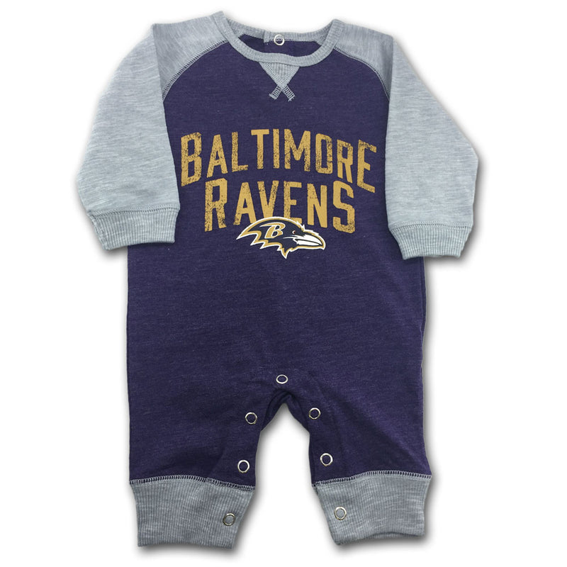 Ravens Newborn Legacy Coverall