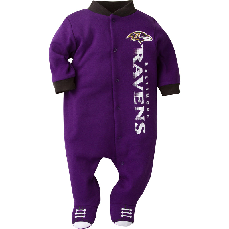 Baby Ravens Logo Sleep & Play