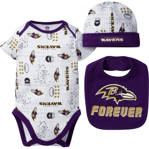Ravens Fan Forever Outfit