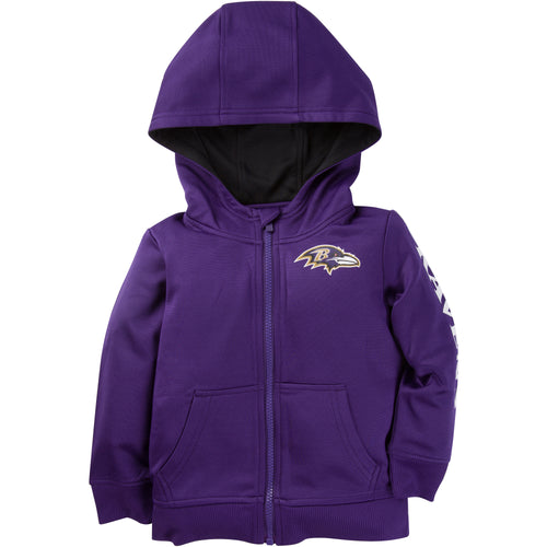 Zip Up Ravens Kid Jacket