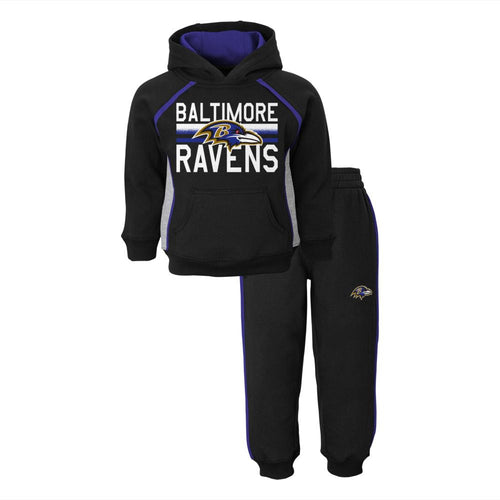 Ravens Fan Sweatshirt Fleece Set