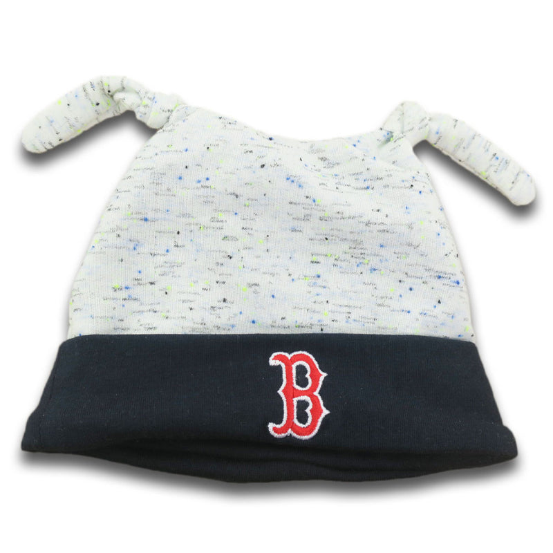 Red Sox Newborn Speckled Beanie
