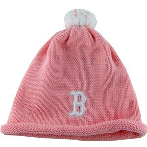 Red Sox Pink Infant Beanie Cap