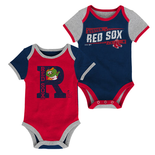 Red Sox Baby Fan Team Spirit Bodysuits