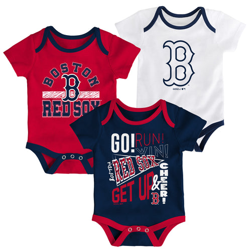 Red Sox Get Up and Cheer 3 Pack