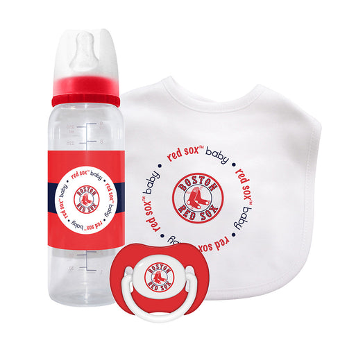 Red Sox 3 Piece Infant Gift Set