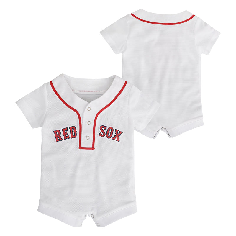 Red Sox Newborn Home Team Jersey Romper