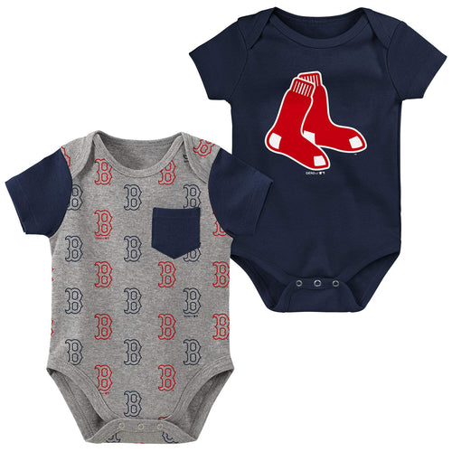 Red Sox 2 Pack Creeper Set