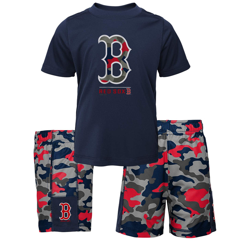 Red Sox Camo Shirt and Shorts