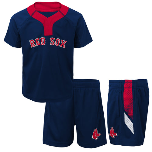 Red Sox Boy Performance Shirt and Shorts Set