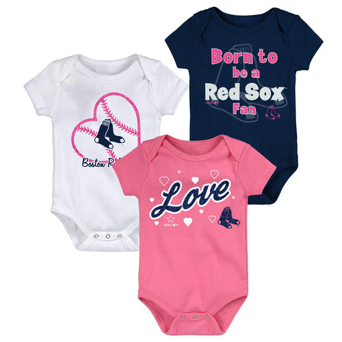Boston Red Sox Baby Girl Clothing