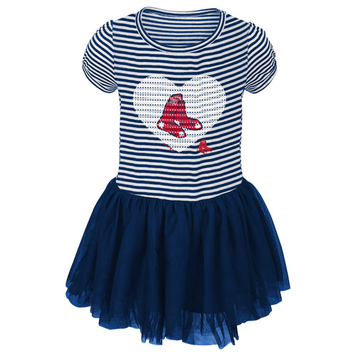 Red Sox Infant/Toddler Girls Sequin Tutu Dress