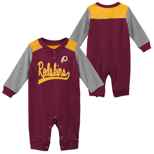 Redskins Game Time Long Sleeve Coverall
