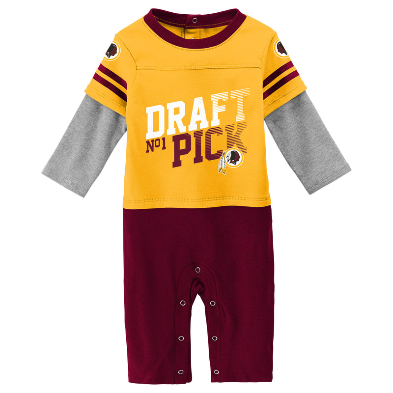 Redskins Boy Long Sleeve Coverall