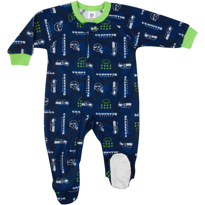 Seahawks Baby Boy Blanket Sleeper