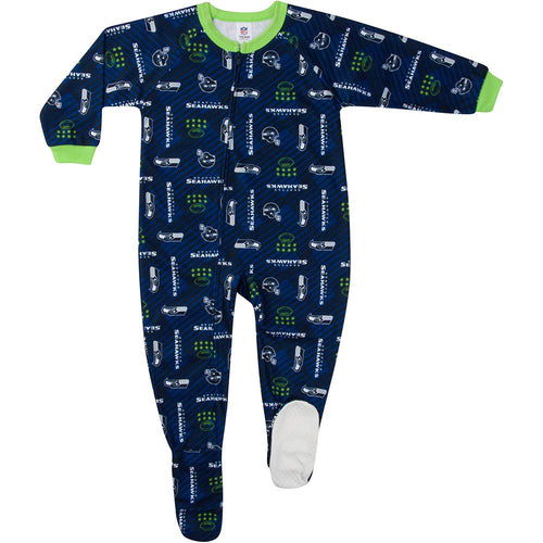 Seahawks Toddler Blanket Sleeper