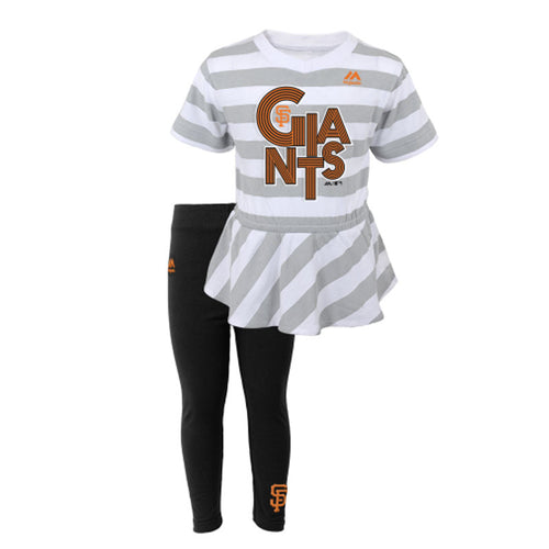 San Francisco Giants Infant Girl Top & Capri Outfit
