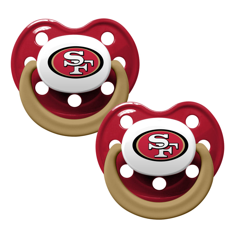 49ers Team Colors Pacifiers