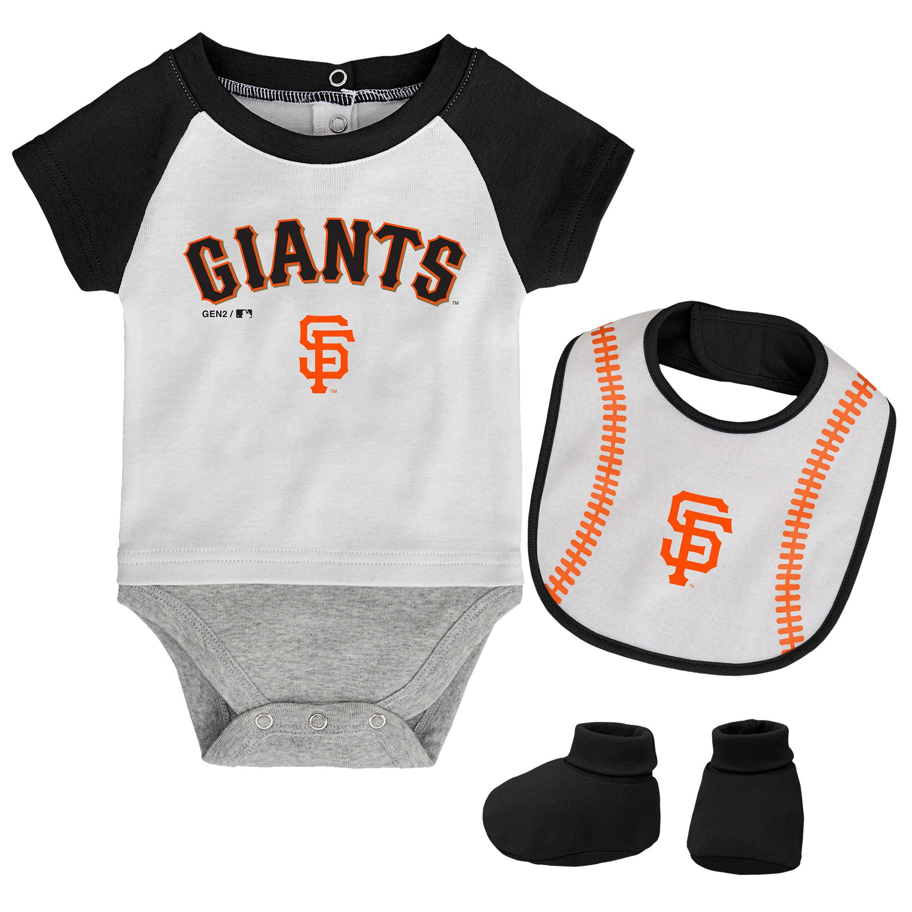 affdbd728 San Francisco Giants Baby Outfit – babyfans