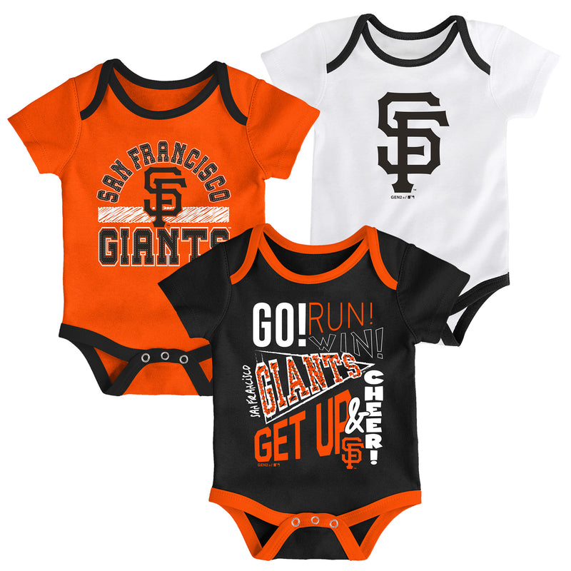 Giants Get Up and Cheer 3 Pack