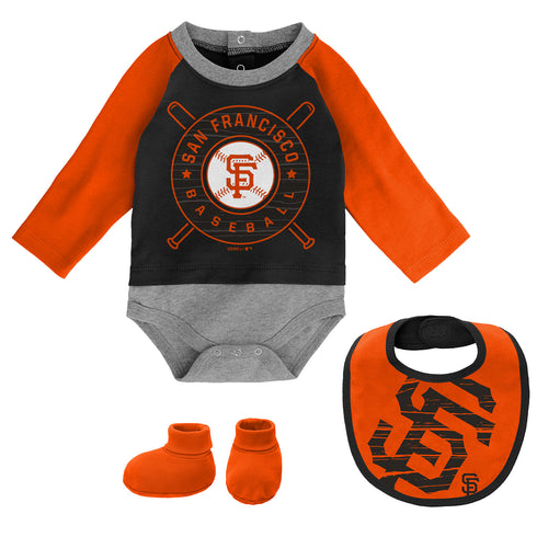 Giants Baseball Baby Outfit