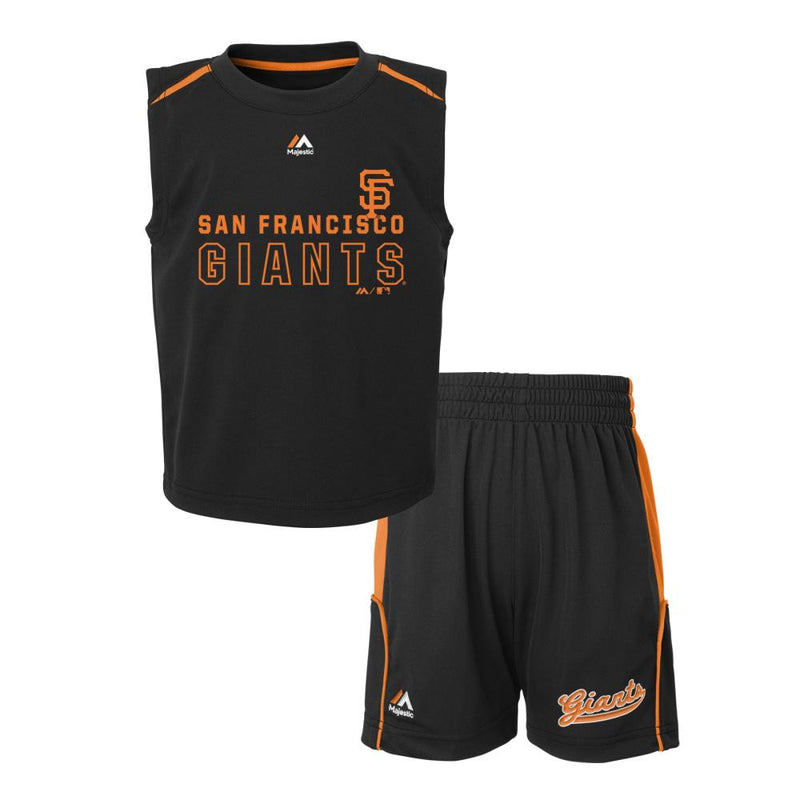 SF Giants Kids Play Outfit