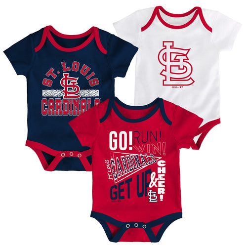 58341c3601a Cardinals Get Up and Cheer 3 Pack