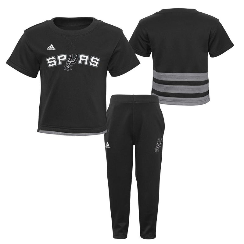 San Antonio Spurs Infant/Toddler Short Sleeve Shirt and Pants Outfit