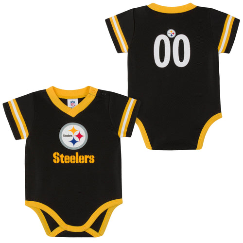Pittsburgh Steelers Baby Jersey Bodysuit