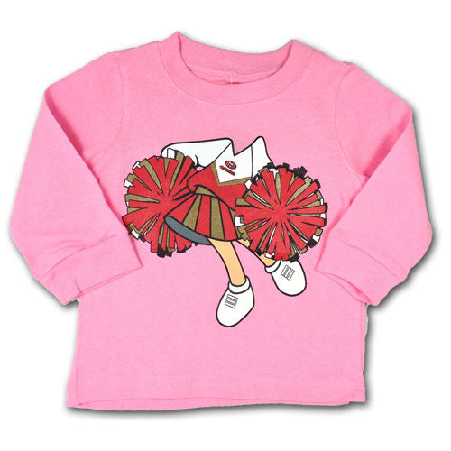 49ers Infant Cheerleader Tee