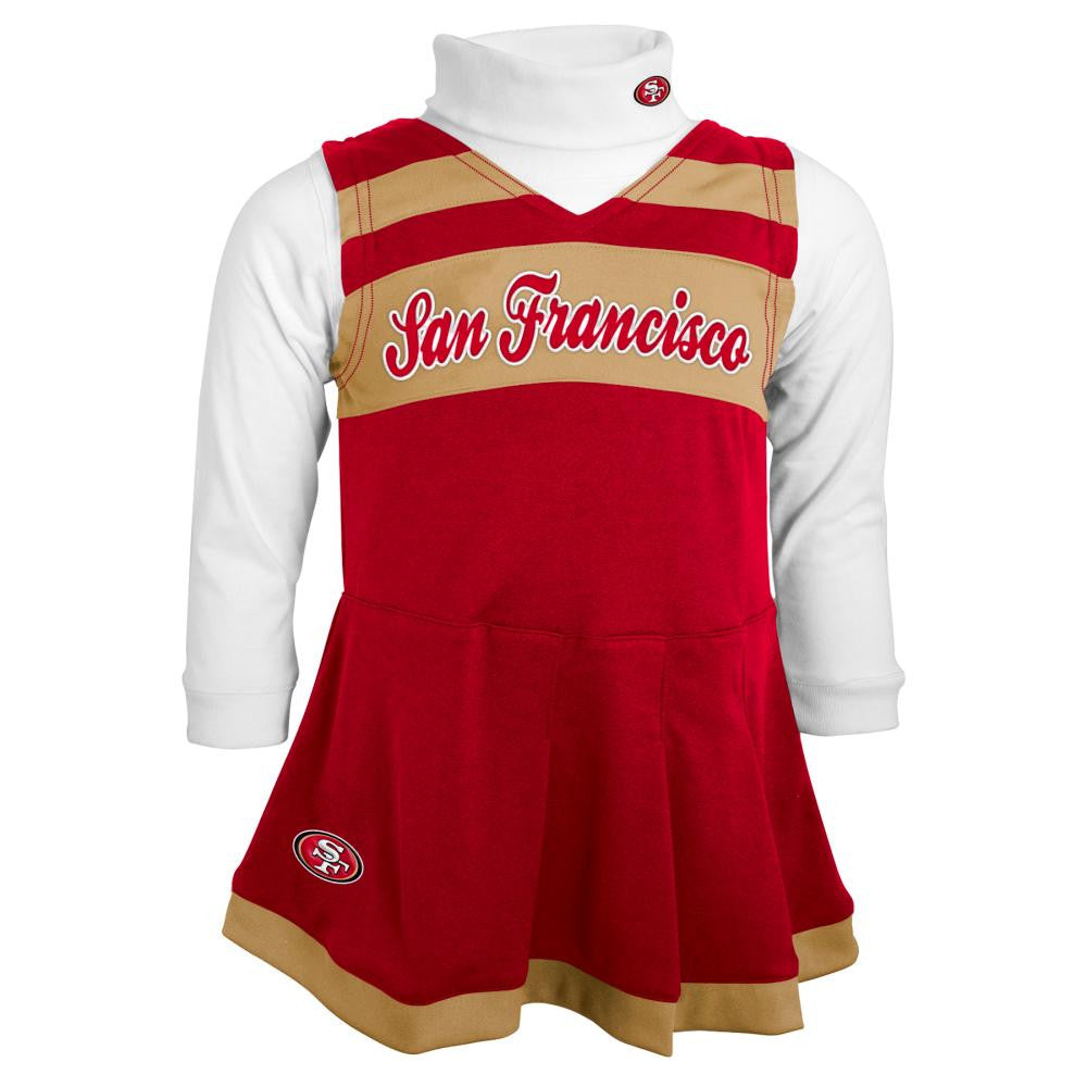49ers Infant Cheerleader Jumper Babyfans