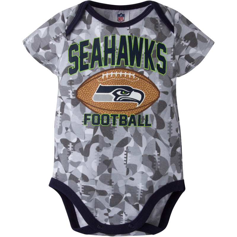 Seahawks Infant Camo Bodysuit