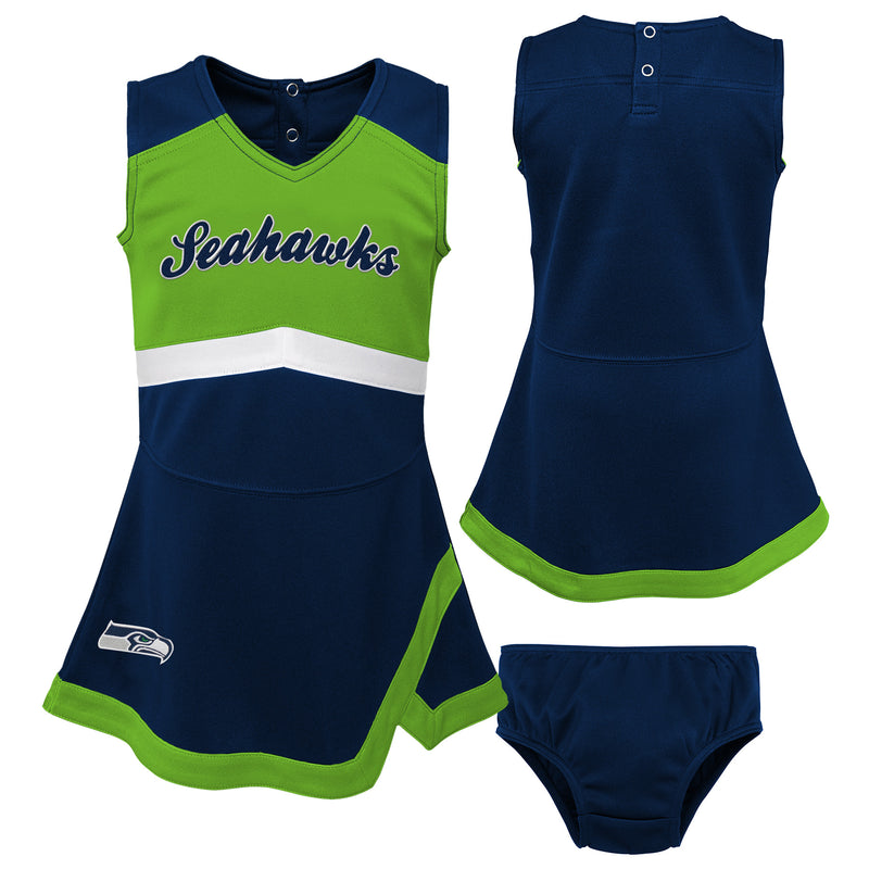 Seattle Seahawks Infant Cheerleader Dress