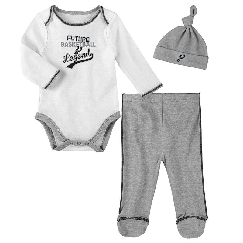 San Antonio Spurs Future Basketball Legend 3 Piece Outfit