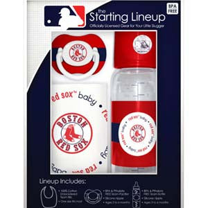 Red Sox Starting Line Up Gift Set