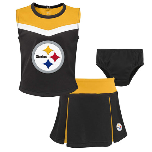 Steelers Girl 3 Piece Cheerleader Set