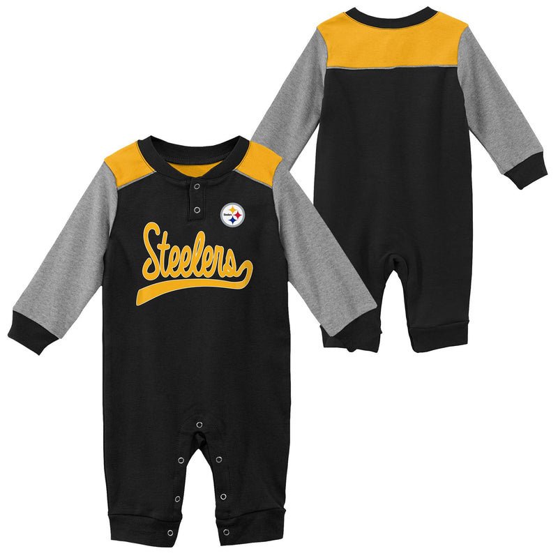 Steelers Game Time Long Sleeve Coverall