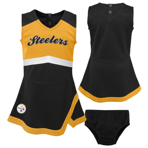 Pittsburgh Steelers Infant Cheerleader Dress