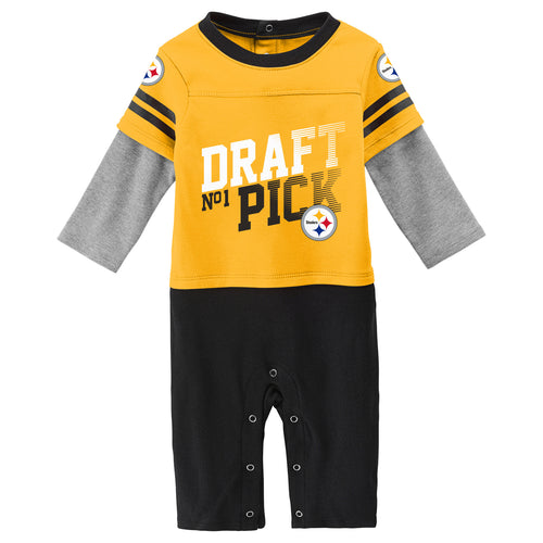 Steelers Boy Long Sleeve Coverall