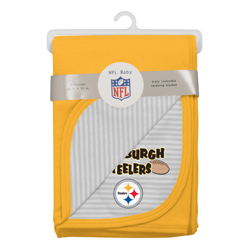 Steelers Newborn Baby Blanket
