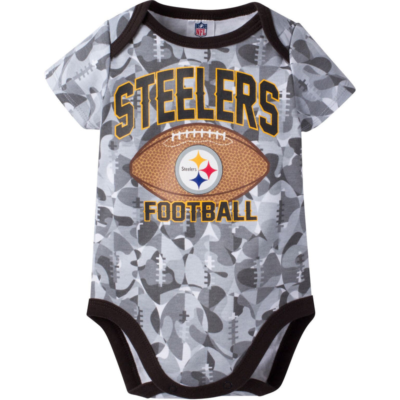 Steelers Infant Camo Bodysuit