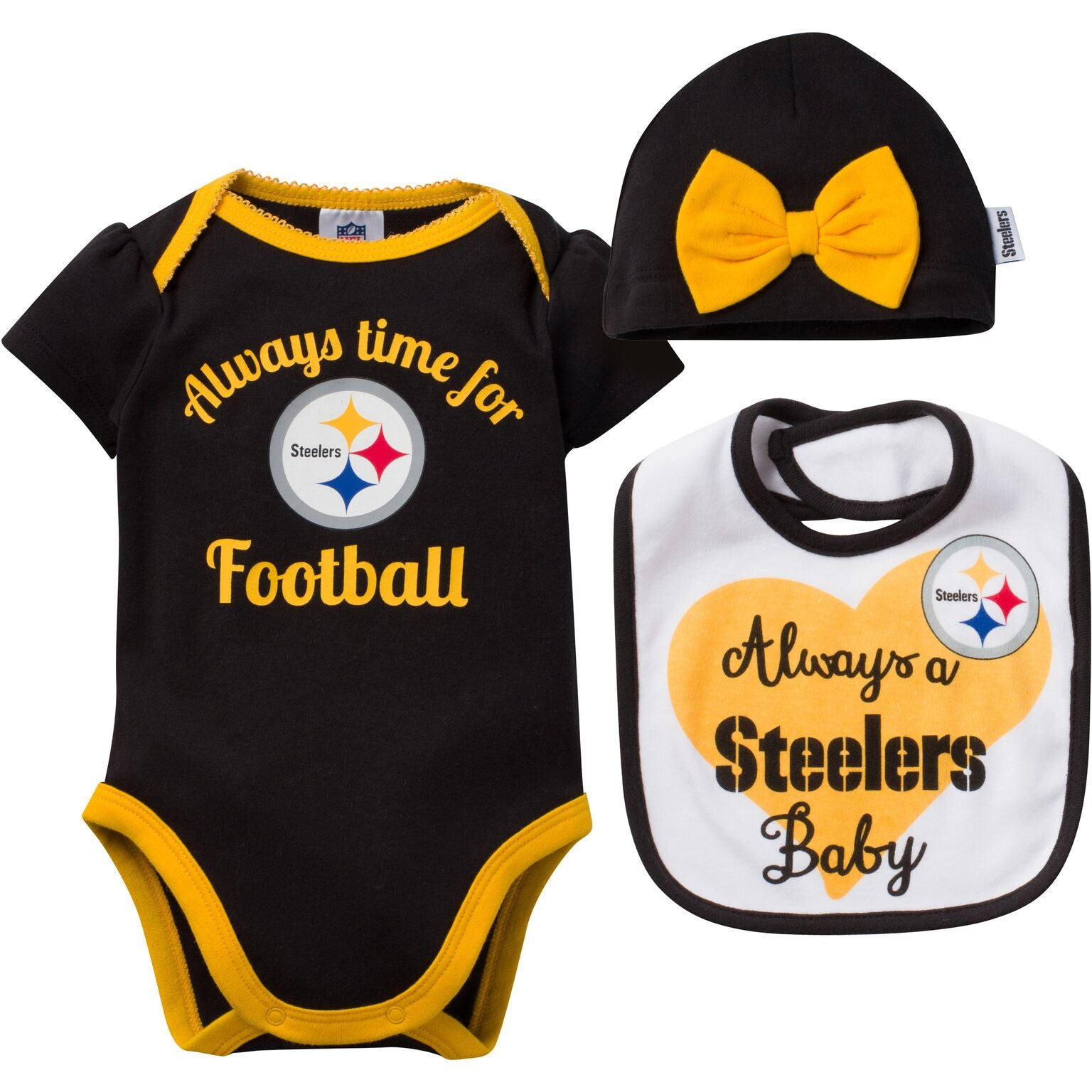 Always a Steelers Baby Outfit – babyfans