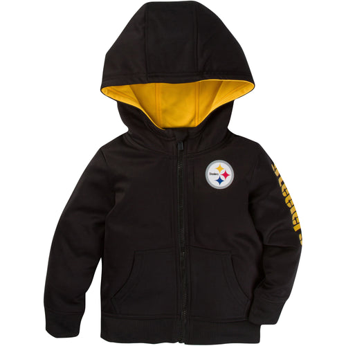 Zip Up Steelers Kid Jacket
