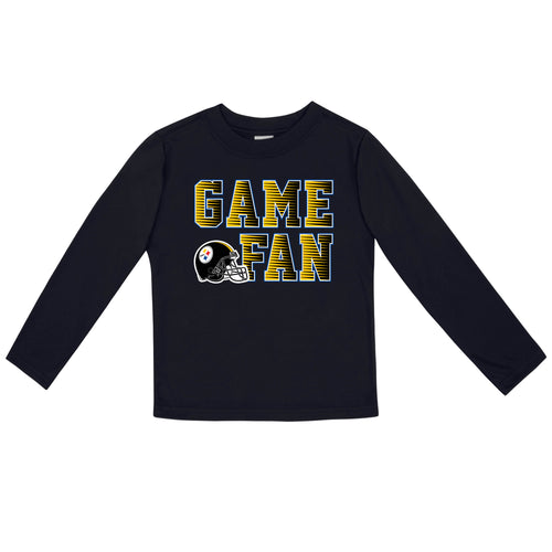 Steelers Game Fan Long Sleeve Shirt