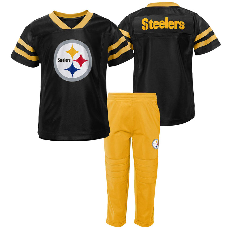 Steelers Jersey Style Shirt and Pants Set