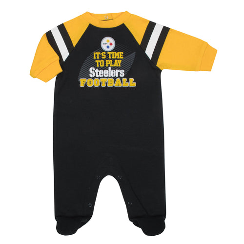 Steelers Baby Football Sleep N Play