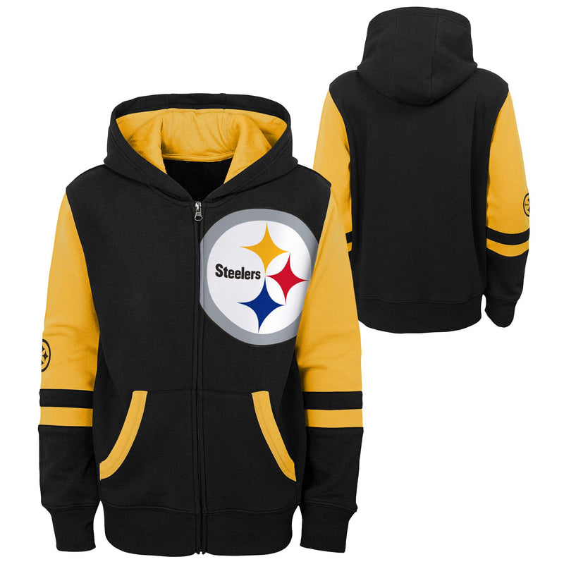 Pittsburgh Steelers Zip Up Sweatshirt