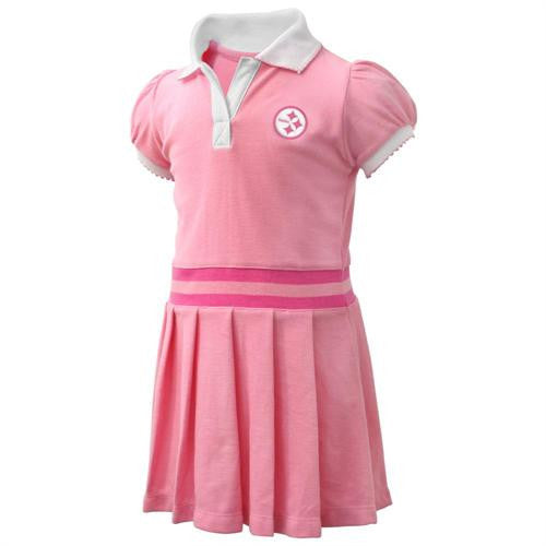 Steelers Pink Toddler Dress