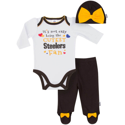 Steelers Baby Girl Outfit